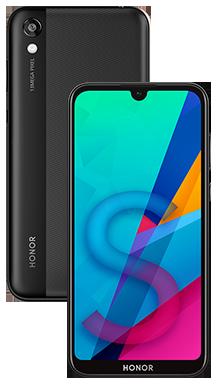 Honor 8s 2020 64GB Midnight Black