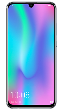 Honor 10 Lite Black Front