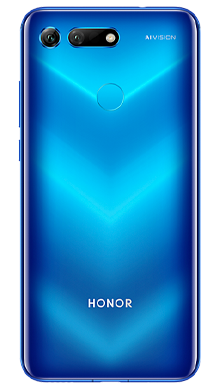 Honor View 20 6GB Ram 128GB Sapphire Blue Back