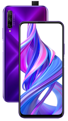 Honor 9X Pro 128GB Phantom Purple Side