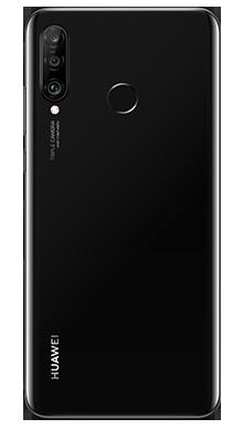 Huawei P30 Lite Midnight Black Back