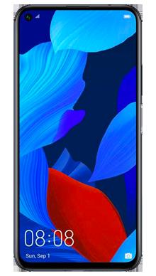 Huawei Nova 5T Black Front