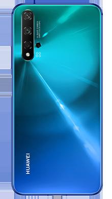 Huawei Nova 5T Crush Blue Back