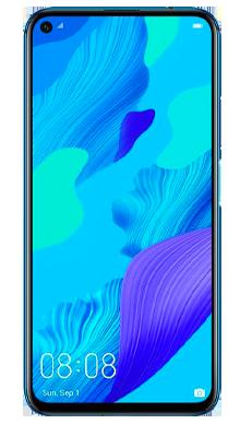 Huawei Nova 5T Crush Blue Front