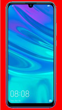 Huawei P Smart 2019 Aurora Blue Front
