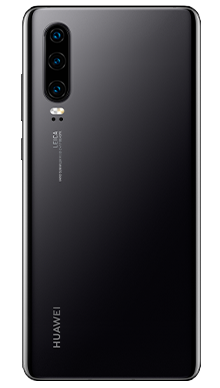 Huawei P30 128GB Midnight Black Back