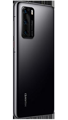 Huawei P40 128GB 5G Midnight Black Side