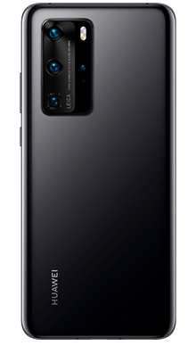 Huawei P40 128GB 5G Midnight Black Back