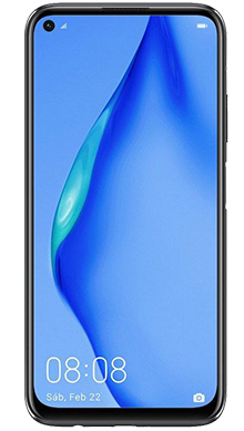 Huawei P40 Lite 128GB Midnight Black Front
