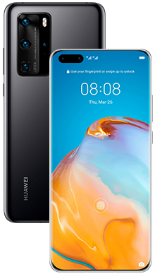 Huawei P40 128GB 5G Midnight Black