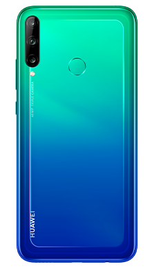 Huawei P40 Lite E 128GB Aurora Blue Back