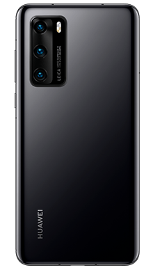 Huawei P40 Pro 256GB 5G Midnight Black Back