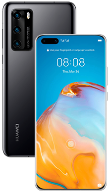 Huawei P40 Pro 256GB 5G Midnight Black
