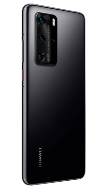 Huawei P40 Pro 256GB 5G Midnight Black Side
