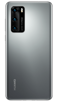 Huawei P40 Pro 256GB 5G Silver Frost Back