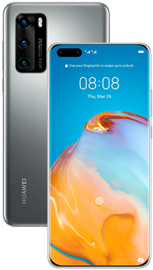 Huawei P40 Pro 256GB 5G Silver Frost