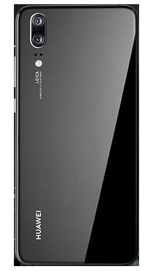 Huawei P20 Black Back
