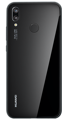 Huawei P20 Lite Black Back