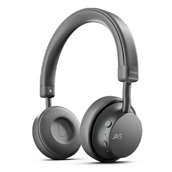 Jays Bluetooth Headphones Black