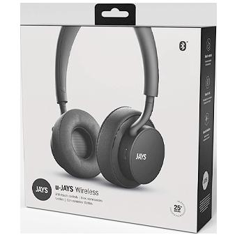 Jays Bluetooth Headphones Black Side
