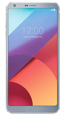 LG G6 32GB Platinum Front