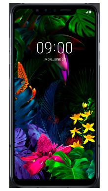 LG G8S Black Front