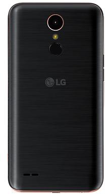LG K10 2017 Black Back