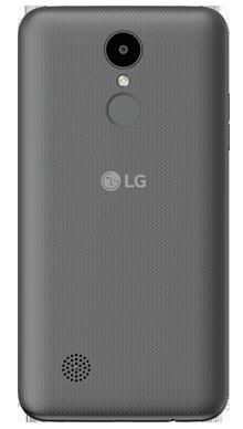 LG K4 2017 Black Back