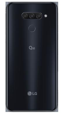 LG Q60 Blue Back