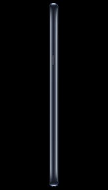 LG Q60 Blue Side