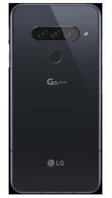 LG G8S Black Back