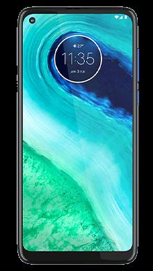 Motorola G8 64GB Neon Blue Front