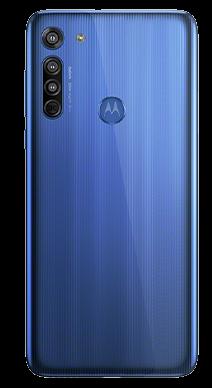 Motorola G8 64GB Neon Blue Back