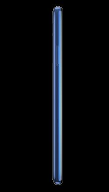 Motorola G8 64GB Neon Blue Side