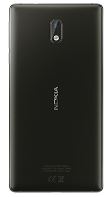 Nokia 3 Black Back