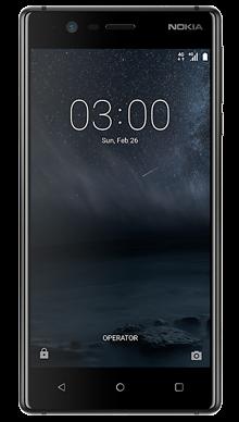 Nokia 3 Black Front