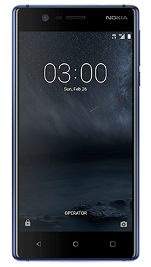 Nokia 3 Blue Front