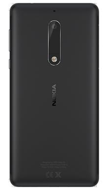 Nokia 5 Black Back