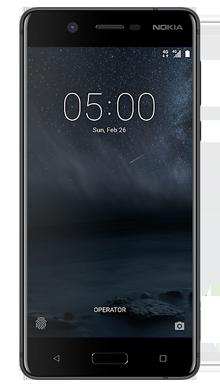 Nokia 5 Black Front