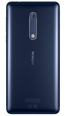 Nokia 5 Blue Back