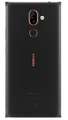 Nokia 7 Plus 64GB Black Back