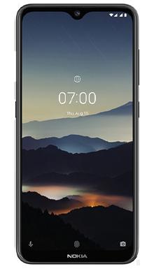 Nokia 7.2 Black Front