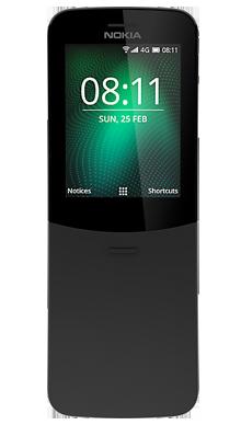 Nokia 8110 Black Front