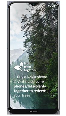 Nokia G20 64GB Blue Front