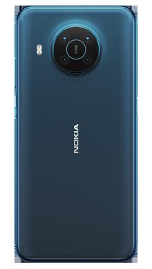 Nokia X20 5G 128GB Nordic Blue Back
