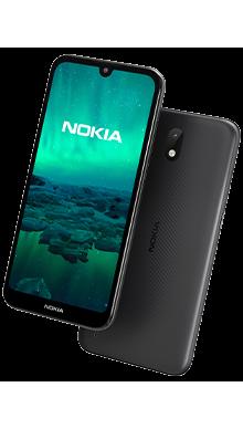 Nokia 1.3 16GB Charcoal Side