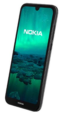 Nokia 1.3 16GB Charcoal Back