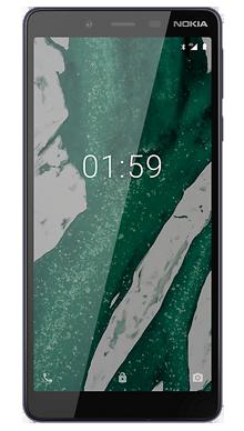 Nokia 1 Plus Black Front