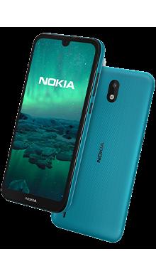 Nokia 1.3 16GB Cyan Side
