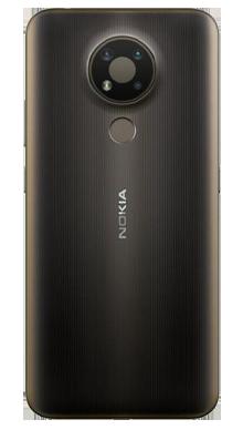 Nokia 3.4 32GB Charcoal Back